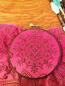 pink bradded