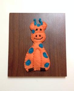 finished giraffe