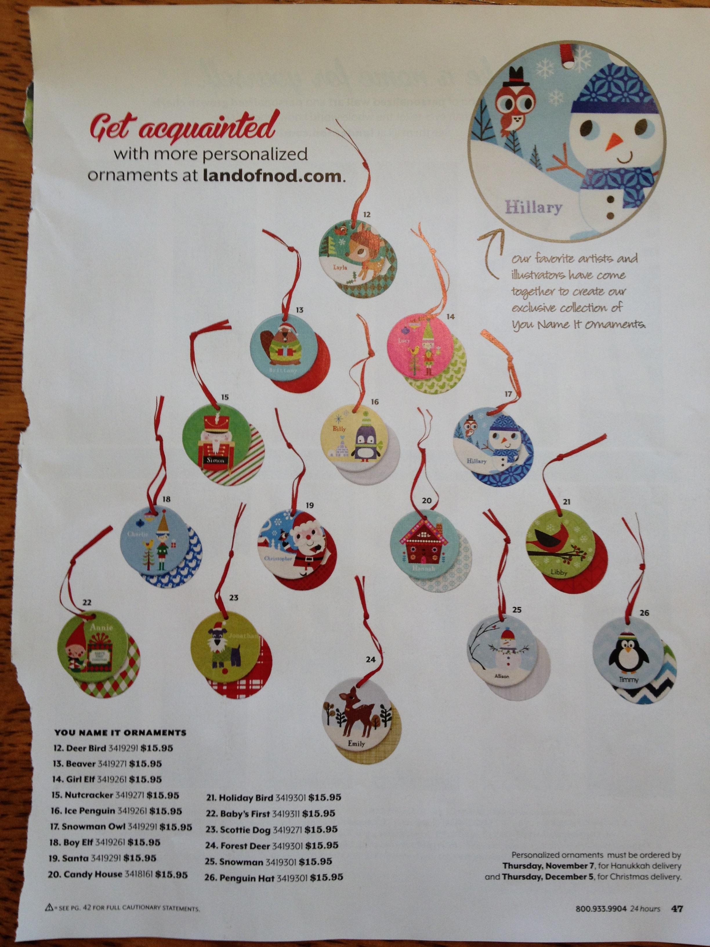 Christmas ornament catalogs - Inspiration