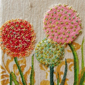 flower embroidery inspiration