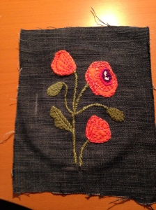 poppies progress