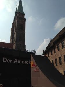Red Bull ramp