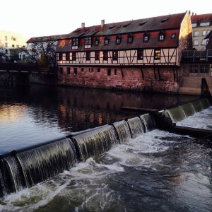 Walk along the Pegnitz