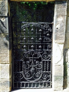 Rock House Iron Door
