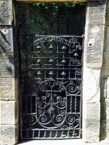 Rock House Iron Door
